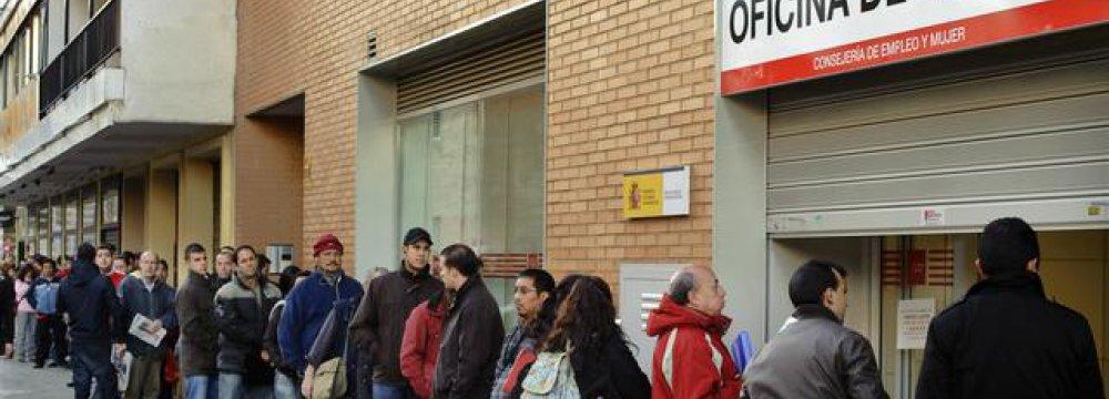 Spain Unemployment Figures Drop