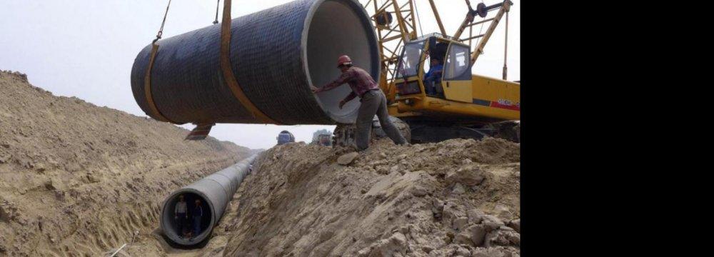 1,400Km Water Transfer  Project for Beijing