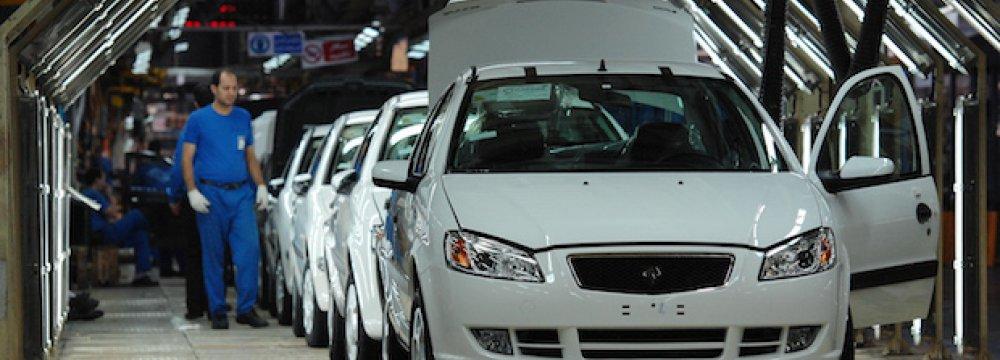 Annual Car Output Target: 3m