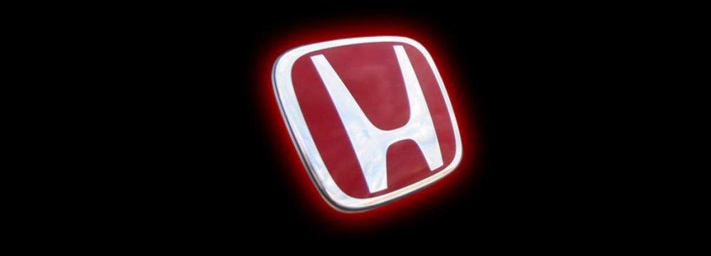 Honda Logs 20% Profit