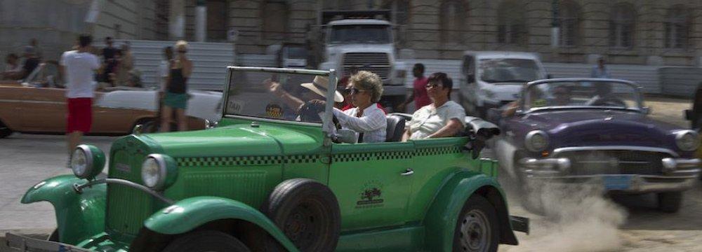 3m Tourists Visit Cuba