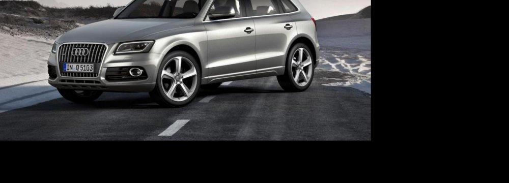 New Audi Arrives in Iran