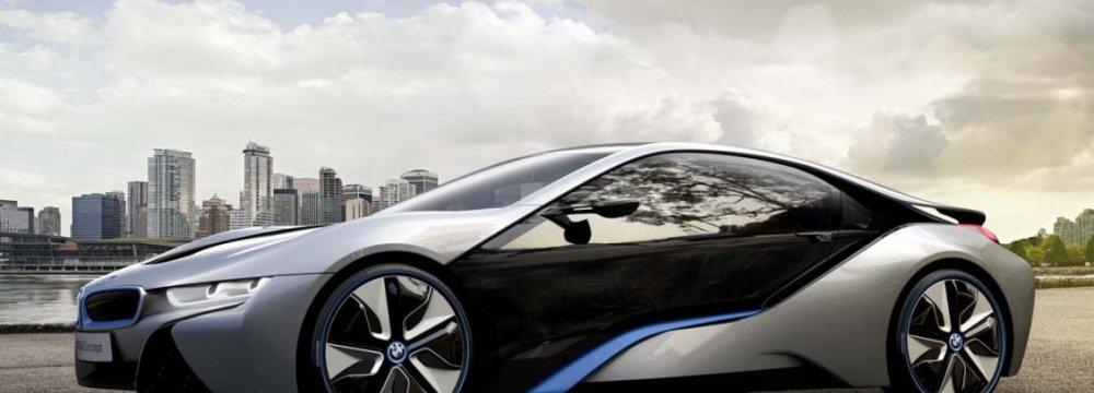 BMW i8 Enters Iran
