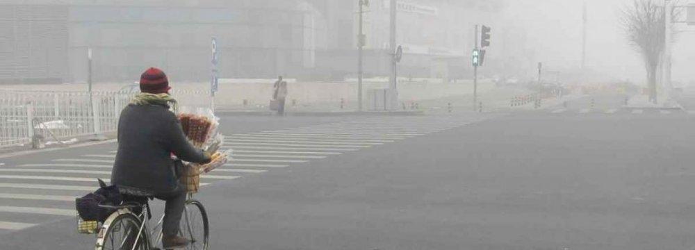 Tech Giants Forecasting China Smog