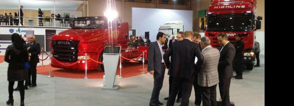 Iran Auto Expo Opens
