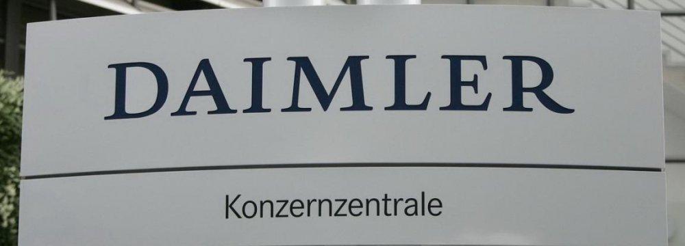 Daimler Entry Imminent