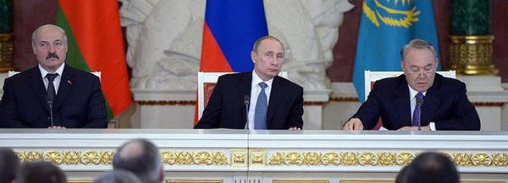 Ex-Soviet Republics Hit by Russia Crisis
