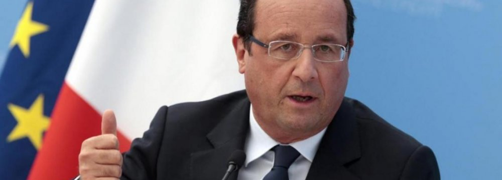 France Buries Hollande's Super Tax