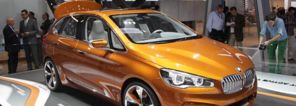 China Clouds Optimism at Frankfurt Auto Show