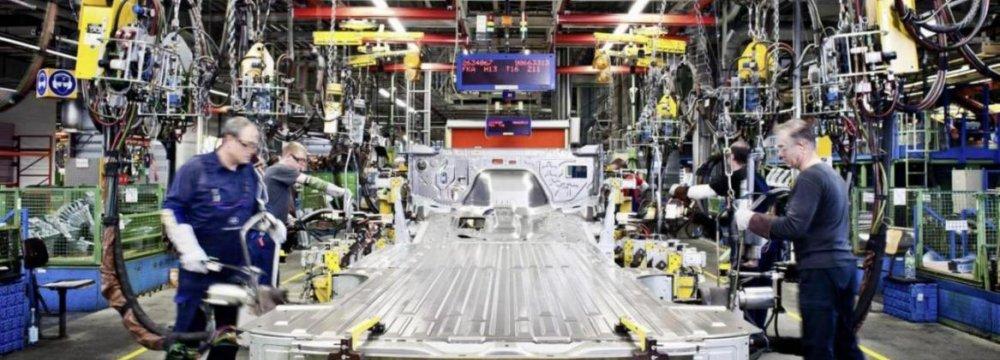 German Industry Cuts Growth Forecast