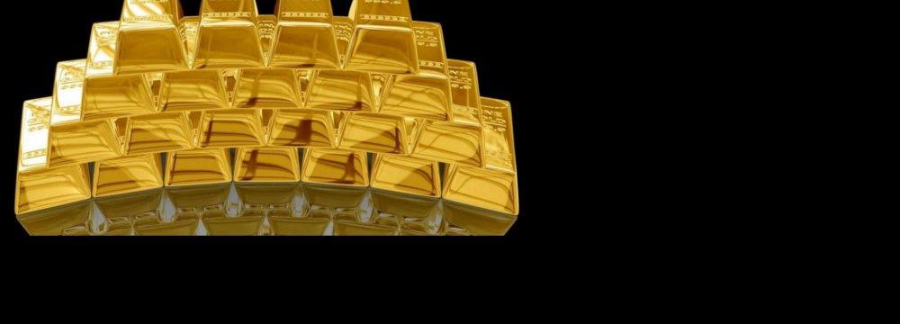 Gold Slumps  to Below $1,150