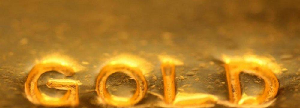 Gold Rises, Shares Drop