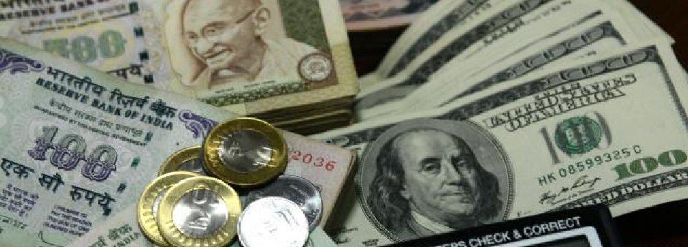India Reserves at $322b