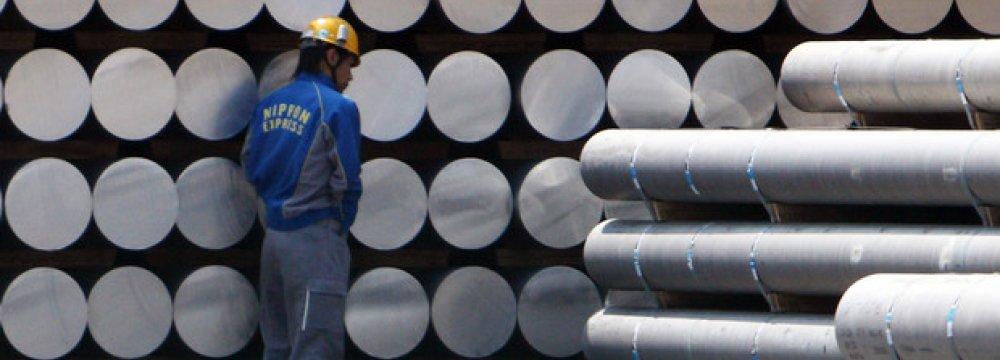 Japan Aluminum Stocks Rise