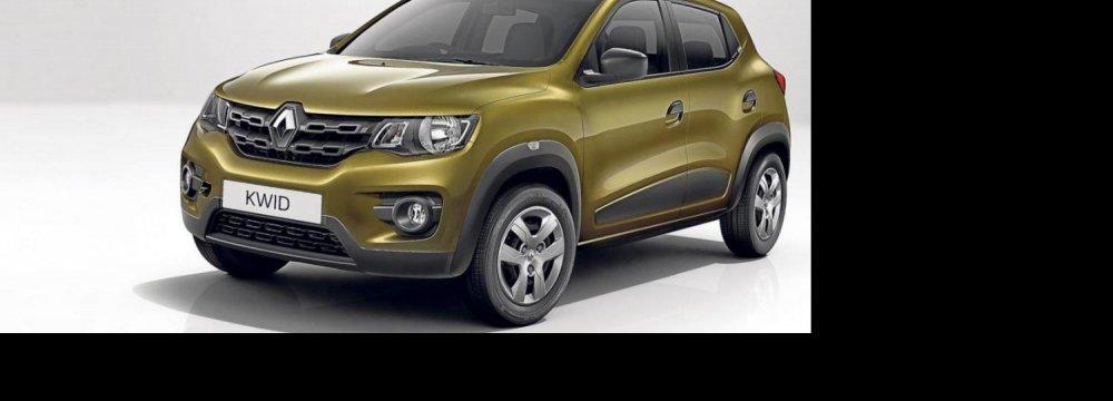 Renault Kwid on the Way