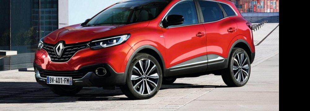 Renault's Kadjar for Europe, China
