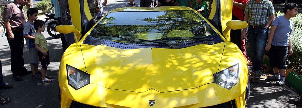 Iranian-Made Lamborghini
