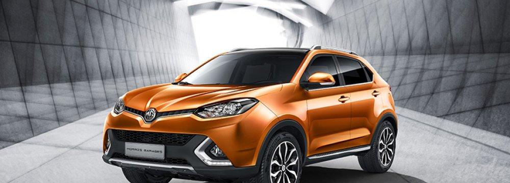 MG Taking SUV 2016 Orders