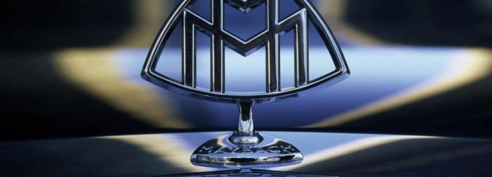 Maybach China Sales Remain Strong