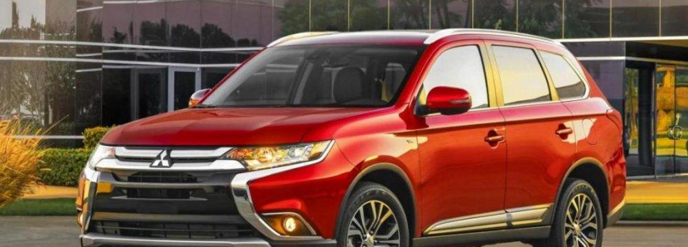 Mitsubishi to Launch 2016 Outlander SUV