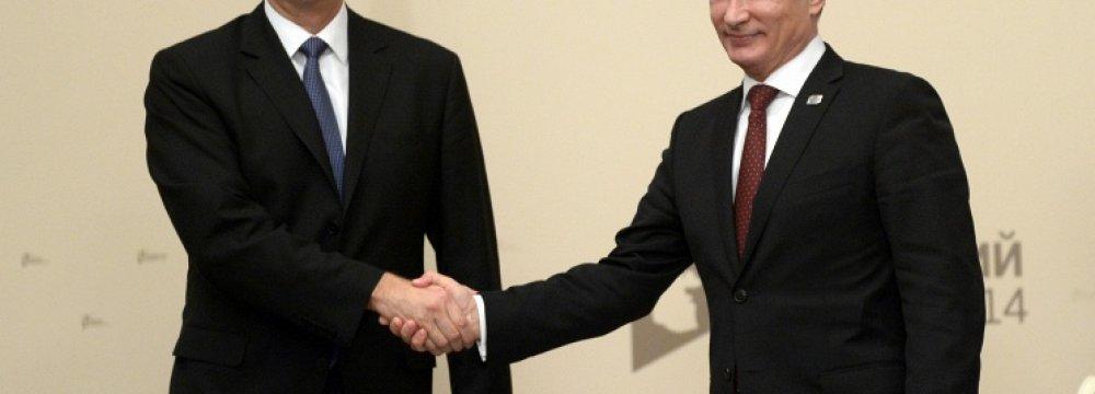 Moscow-Baku Trade Ties
