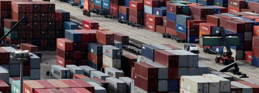 S. Korea 2014 Exports at $573b, Imports 525b