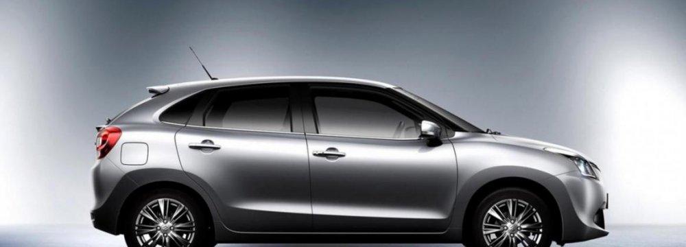 Baleno Hatchback Ready for Frankfurt Show