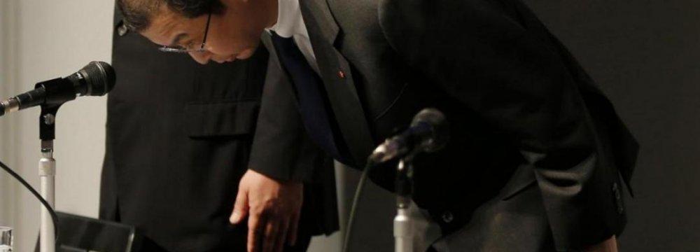 Takata CEO  Gets Pay Cut