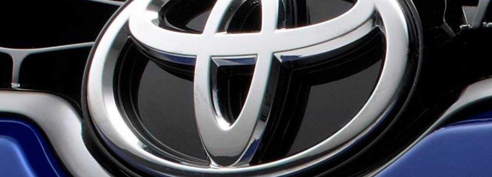Toyota Annual Profit Accelerates