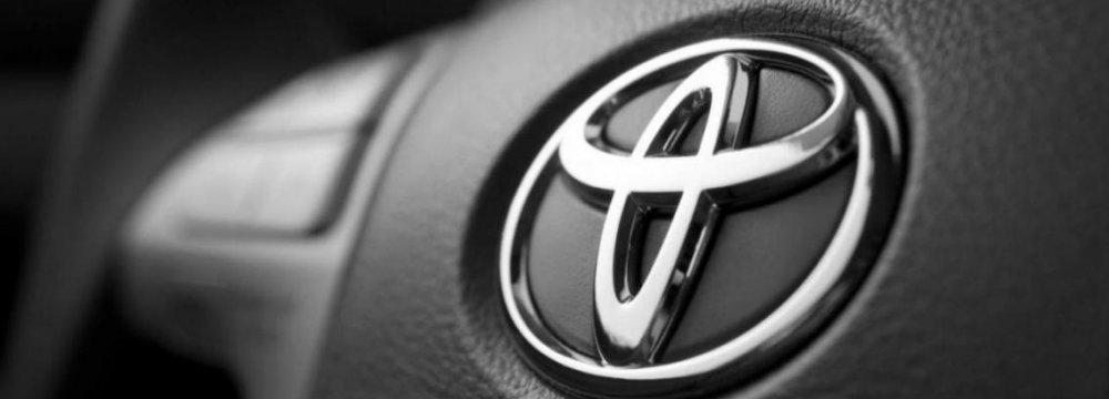 Toyota Eyes Bigger Iranian Share