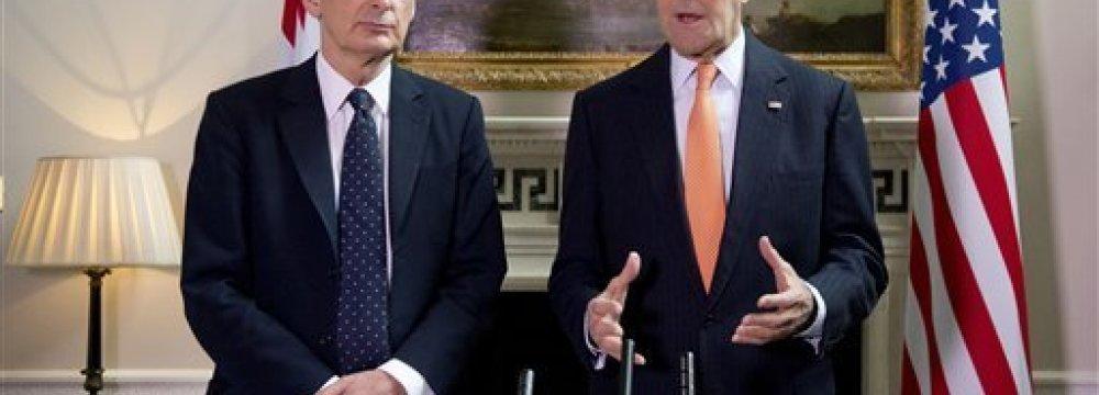 US, Britain Discuss New Russia Sanctions