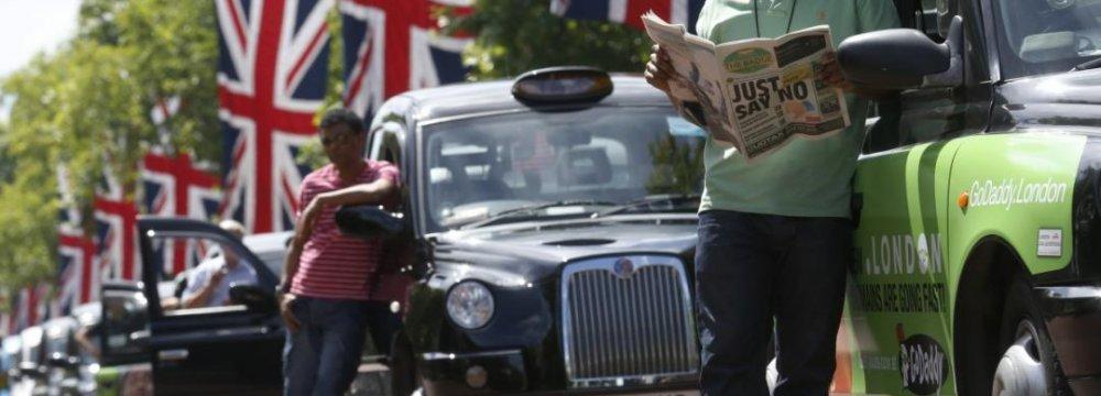 London Scrutinizes Uber Application