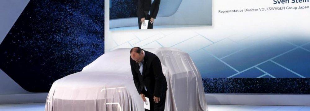 VW Apologizes at Japan Auto Show