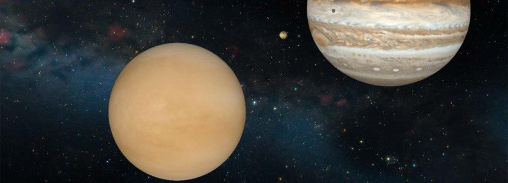 Venus, Jupiter Up Close and Personal
