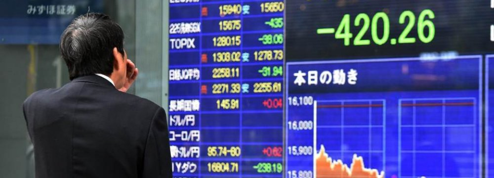 Asian Shares Rise After Morning Losses