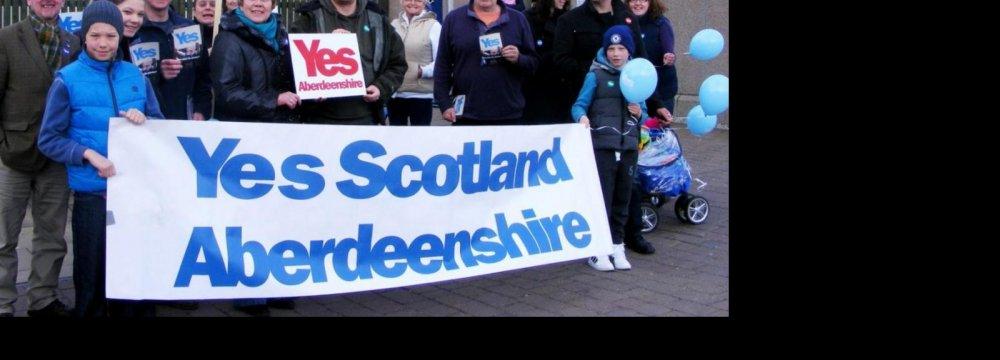 Pound Annihilated on Scottish Poll News