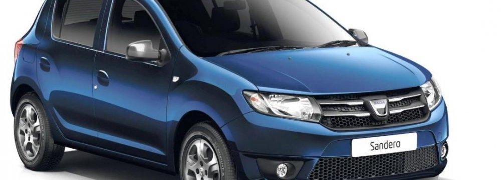 Renault Teases Sport Sandero