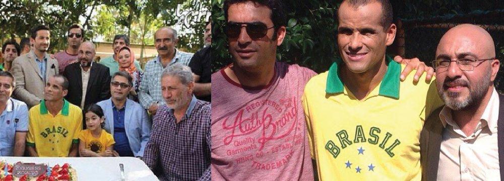 Rivaldo in Iranian Film