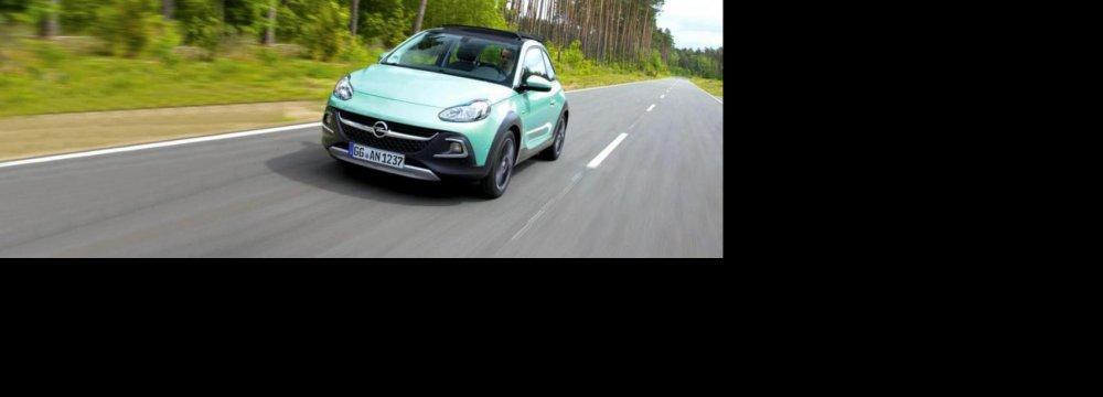 Opel  Releases Upgraded Adam