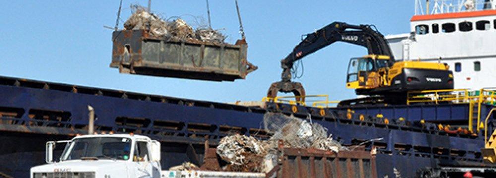 Scrap Metal at Iran Mercantile Exchange