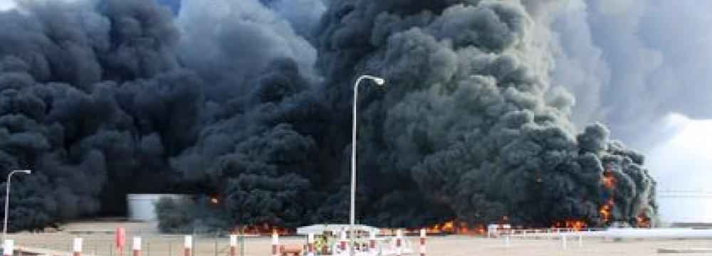 Oil Tanker Bombed at Libyan Port, 2 Dead