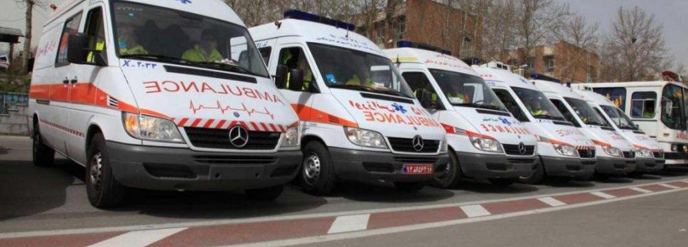 New Ambulances