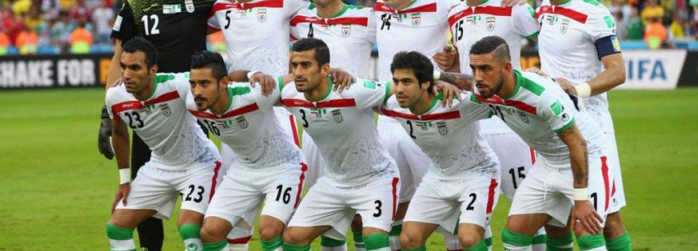 National Soccer Team 1st in Asia