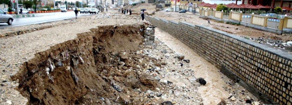 Flooding Damage: $60m