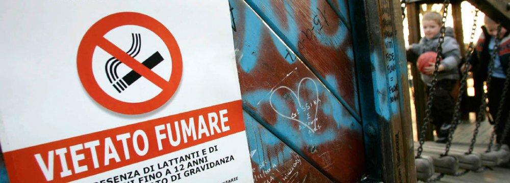 Heavier Smoking Fines in Italy