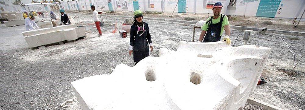 Kish Island Turns Into Sculptors' Paradise