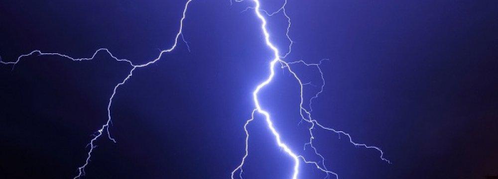 Lightning  Kills Two  in Lorestan
