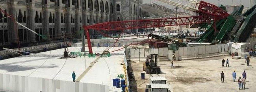 Compensation for Crane  Crash Victims