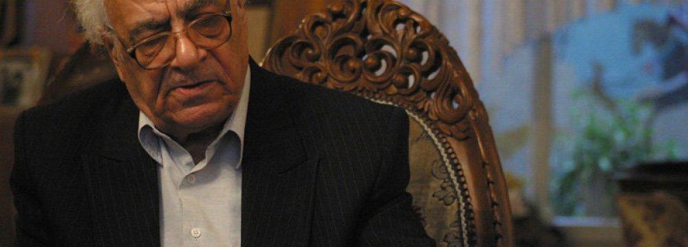 Master of Poetry Kashani Passes Away