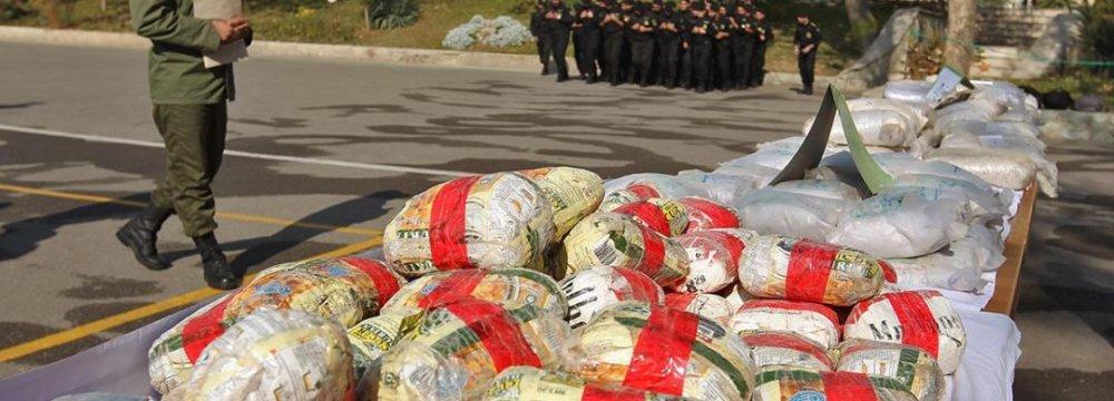 Narcotics Seized in Yazd